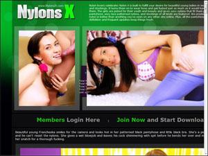 nylons x