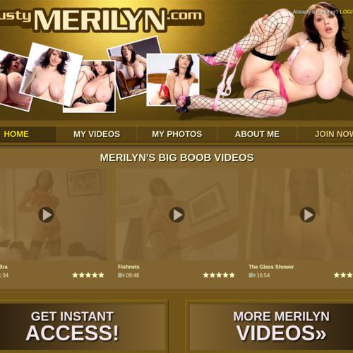 Busty Merilyn